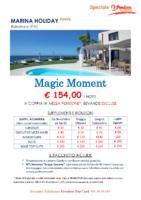 MARINA HOLIDAY – Magic Moment